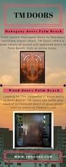 Mahogany doors Palm Beach (Tropical Doors and Moldings) Tags: entry doors palm beach