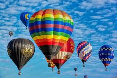 Alburquerque Balloon Fiesta 2019 (DennyMont) Tags: balloons hotairballoons alburquerqueballoonfiesta