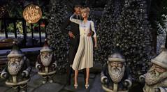 Merry Christmas to all of our friends & followers! (Teddi Beres) Tags: second life sl virtual screenshot blonde black girl woman man holiday christmas xmas winter snow santa apple fall trees