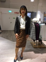 Adler fashion (Marie-Christine.TV) Tags: feminine transvestite lady mariechristine erfurt fashion leather skirt lederrock dame pumps