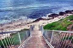 Leighton Beach_0006 (brett.m.johnson) Tags: leighton beach fremantle perth westernaustralia sand ocean white blue tranquil summer winter sky indianocean stairs path gereen