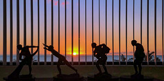 Netting the Sun (Island Impressions) Tags: hawaii sunset