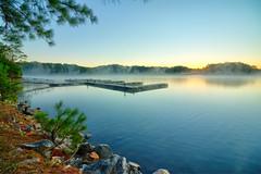 Lake Lanier Sunrise (Yer Photo Xpression) Tags: ronmayhew lakelanier littlehallpark northgeorgia water lake sunrise dock shore hallcounty georgia canon