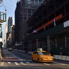 Down 34th Street (MPnormaleye) Tags: utata neighborhoods urban square skyscraper cab taxi manhattan nyc newyork