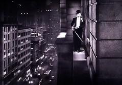 Jack Norton and Harold Peary as Throckmorton Gildersleeve 1920 (Brechtbug) Tags: harold peary throckmorton p gildersleeve richard legrand pharmacist q peavey drag pretending be wife billie burke mrs laura chandler from broadway 1943 radio movie television show screen grab screengrab humor characters like newspaper comic strips hal