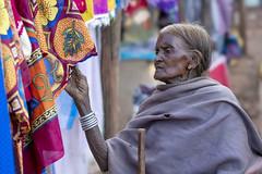Baiga woman at market - Chhattisgarh - India (wietsej) Tags: baiga woman market chhattisgarh india sony a7rii sel100f28gm stf