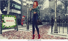 Credits 👇 NEW POST ♥ (Bah Stella) Tags: secondlife blog blogger model lotd creditos hairstyle hair accessories virtuallife secondlifeblog secondlifefashion neve christmas blueberry rama