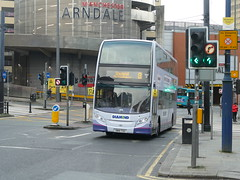 Rotala Diamond Bus North West 33836 191105 Manchester [hired] (maljoe) Tags: rotaladiamondbusnorthwest rotaladiamondbus rotala alexanderdennisenviro400 alexanderdennis