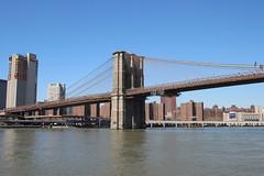 Brooklyn Bridge (dbind747438) Tags: new york city manhattan ny nyc usa us america united states buildings architecture skyscrapers skyline hudson river brooklyn bridge