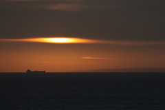 North Sea Winter Sunrise (MikeOB64) Tags: sunrise north sea ocean ship shipping teesport winter whitby tranquil calm pastel