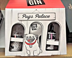 Pubs Palace Gin (Tony Worrall) Tags: gin buy sell sale bought item stock ilobsterit instagram drink box cute spirit drunk boxed pug dog canine goods fun nice dailyphoto package packet bottles glass name marked sign ginbottles funny gift deliver taste tasty yum yummy great 3pugsgin