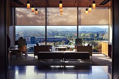 New Stanford Hospital: $2 billion view (PeterThoeny) Tags: stanford paloalto california siliconvalley usa sanfranciscobay sanfranciscobayarea southbay stanfordhospital stanforduniversity architecture room waitingroom doctoroffice office indoor symmetry sony sonya7 a7 a7ii a7mii alpha7mii ilce7m2 fullframe vintagelens dreamlens canon50mmf095 canon 1xp raw photomatix hdr qualityhdr qualityhdrphotography fav100 hospital