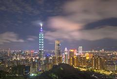Taipei 101 (FollowingNature (Yao Liu)) Tags: taiwan taipei followingnature lights nightsky taipei101 象山 台北