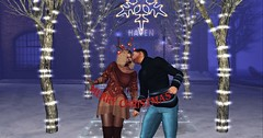 Merry Christmas, Darling (♪♫ The Songstress, Miss M ♫♪) Tags: accessories allurecouture baubleearrings christmas december fashion jessposes posefair poses remiknitdress secondlife sevenevent shy soschristmasfair thebarathaven winter wintershowcase