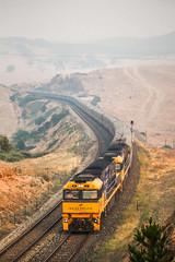 Morning Smoke (southernspiritnr84) Tags: passenger indianpacific journeybeyondrail smoke locksley pn pacificnational train nrclass nsw australia