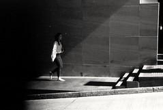 * (David Davidoff) Tags: people street life shadow younglady leicam4 summitar5cmf20collapsibleltm fomapanfilm staircase moment analogue monochrome