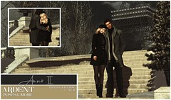 Ardent Poses - Amour II AD Color (Ardent Poses) Tags: secondlife second life sl 2nd 2ndlife avi virtual vr 3d inworld poses pose ardent photography people exclusive avatars event love couple couples release new broderick logan ena roane enaroane bento advertisement sales france french tlalli amour ardentposes
