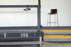 - (_barb_) Tags: australia melbourne abbotsford victoriapark seat shoe