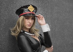 Camie Utsushimi cosplayer at MCM Comic Con London, October 2019 (Gordon.A) Tags: london docklands excel exhibition centre mcm movie comic media mcm2019 convention con festival event creative costume costumes design style lifestyle culture subculture camie utsushimi hero academia cosplay cosplayer pretty lady woman people face model pose posed posing outdoor outdoors outside wall natural light colour colours color colors amateur portrait portraiture photography digital canon eos 750d sigma 50100mm f18 dc art