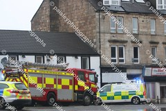 wellmeadow street 10122019  (1) (paisleyphotographs.com) Tags: wellmeadow street paisley fire road closed photos photographs photographer police car engine incident response