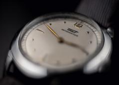 Tissot (dyfuzor 1) Tags: tissot vintage old watch timepiece fujixe3 konicahexanon macro