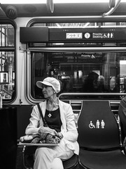 Something Beside You (Jeremy Brooks) Tags: bw blackwhite blackandwhite bus california muni people sanfrancisco sanfranciscocounty strangers strangersonmuni transit usa camera:make=apple camera:model=iphone5se iphone