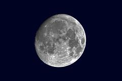 Der Mond über Wanne-Eickel (Michael Döring) Tags: gelsenkirchen bismarck zunehmendermond moon lune luna tc20eiii afs600mm40e d850 michaeldöring