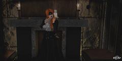#155 - Flames,Runes & Stone (Yvain Vayandar) Tags: weloveroleplay wlrp secondlife sl event fantasy medieval roleplay fairy magic runes dark witch flames stone rektroyalty anatomy moon infinity stardust jian oldtreasures {id}innerdemons krescendo