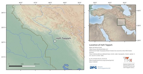 Location of Haft Tappeh