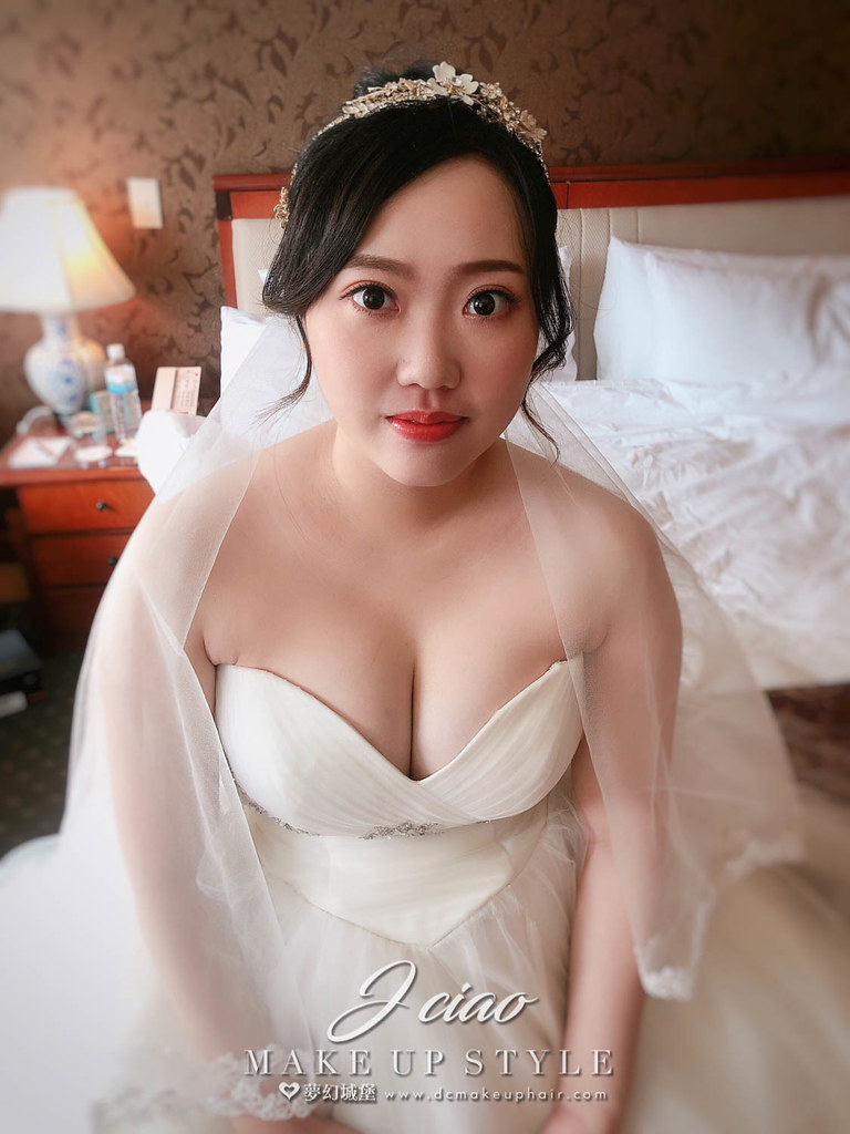 【新秘婕喬】bride佳瑄 結婚造型 / 韓系風