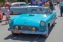 Ford Thunderbird (Peter.Stokes) Tags: red auto automobile car classic historic monbulk outdoor oldtimer oldie oldstyle slr show transport vehicles vintage world cars wagen mirrorless monbulkcarshow carshow sony a7ll