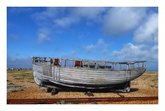 Ship wreck at Dungeness (The Two Doctors) Tags: derelict abandoned beach dungeness boat ship