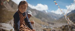 Nepal Girl (Ralph Baetschmann) Tags: nepal great himalaya trails travel traveling outdoor outdoors screenshot screengrab anamorphic video clip film asia girl hawkvlite arri arrialexa cinematography culture people documentary portrait snapshot