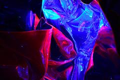 Light Art (bayernphoto) Tags: light art tatjana busch artist kuenstlerin lichtkunst werksviertel mitte muenchen munich modern white box ausstellung exhibition reflexion farben stark colors bunt colorful raum skulptur sculpture klang sound christian losert frequencies