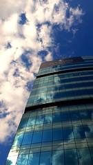 Reflection (jrameshramki) Tags: fourseosons hotel building tall reflection cloud mirror blue white