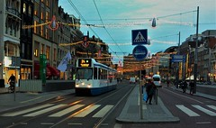 De Donkere Dagen (4) (Peter ( phonepics only) Eijkman) Tags: amsterdam city gvb trapkar bn tram transport trams tramtracks trolley rail rails strassenbahn streetcars nederland nederlandse netherlands noordholland holland