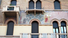 Padova / Padua, Architecture details (Sokleine) Tags: architecture décorarchitectural details détails heritage patrimoine historic building citycentre padova padua padoue veneto vénétie italia italie italy eu europe
