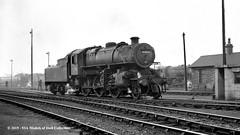 c.1964 - York (50A) MPD. (53A Models) Tags: britishrailways lms ivatt 4mt 260 43055 steam york 50a mpd train railway locomotive railroad