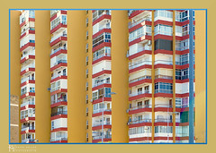 individualized balconies, Spanish way of living (petermüller21) Tags: malaga 2019 balconies individual