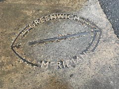 Greenwich Meridian in Walthamstow (Matt From London) Tags: walthamstow meridian marker longitude greenwich woodstreet