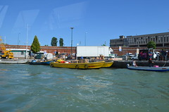 Two DHL cargo delivery boats in Venice, Italy (jimbob_malone) Tags: 2019 venice italy