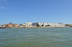 Looking towards cruise ship port (I think) in Venice, Italy (jimbob_malone) Tags: 2019 venice italy