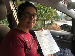 Massive congratulations to Claudia Coelho passing her driving test on her first attempt!   www.leosdrivingschool.com  WARNING: Getting your license is a good achievement however being a SAFE driver for life is the biggest achievement!