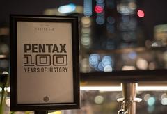 Centenary bokeh (OzzRod) Tags: pentax k1 supermulticoatedtakumar55mmf18 100years centenary celebration party sign railing bokeh cruisebar circularquay sydney