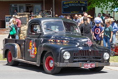 V8 Dodge pick-up (Peter.Stokes) Tags: red auto automobile car classic historic monbulk outdoor oldtimer oldie oldstyle slr show transport vehicles vintage world cars wagen mirrorless monbulkcarshow carshow sony a7ll