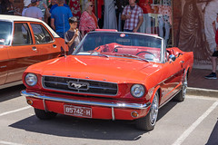 Ford Mustang (Peter.Stokes) Tags: red auto automobile car classic historic monbulk outdoor oldtimer oldie oldstyle slr show transport vehicles vintage world cars wagen mirrorless monbulkcarshow carshow sony a7ll