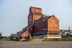 Grain Elevator - Dawson Creek (MIKOFOX ⌘) Tags: canada historicbuilding grainelevator showyourexif xt2 learnfromexif july albertapool fujifilmxt2 mikofox summer grainstorage xf18135mmf3556rlmoiswr proviaasbase