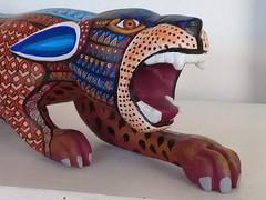 Alebrije Jaguar (alebrijesforsale) Tags: oaxacan oaxacanart oaxacanartforsale florenciofuentesmelchor genuineoaxacanwoodcarving