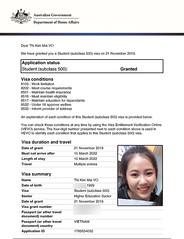 VO-Thi-Kim-Mai_Kent_201912 (duhoc.unilink) Tags: úc visa australia kent