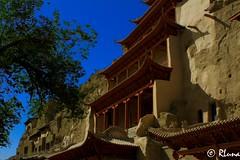DUNHUANG (RLuna (Instagram @rluna1982)) Tags: asia china budismo viaje rluna1982 photo canon instagramapp outdoor landscape dunhuang desierto duna taklamakán gobi gansu rluna mogao